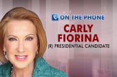 Fiorina: I'm not a professional politician
