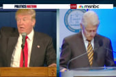 Bill Clinton 'upbeat & encouraging' to Trump