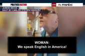 Woman's anti-Spanish rant goes viral