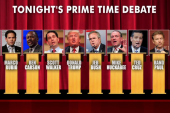 Stage is set for first GOP debate