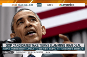 Iran deal in focus ahead of first GOP debate