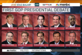 Prime time debate debut for 10 GOP candidates