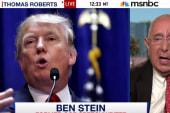 Ben Stein on Donald Trump