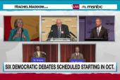 Democrats announce primary debate schedule