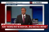 Bush stumbles again on Iraq question