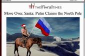 Putin claims the North Pole