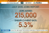 July jobs report in line with expectations