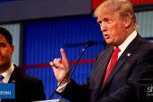 How did Donald Trump fare at the GOP debate?