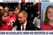 14-year-old journalist covers GOP debate