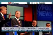 Gauging GOP response to Trump on immigration