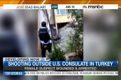 Shooting outside US consulate in Turkey