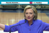 Hillary Clinton asked to weigh in on Trump