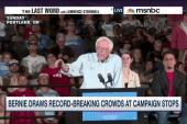 Bernie Sanders' crowds larger than Trump's