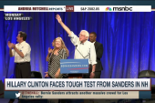 Clinton faces tough test from Sanders