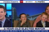 Three-year-old elected MN mayor