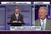 Chafee on debate controversy & war vote