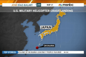 Injuries reported in military chopper crash