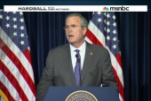 Bush blames Clinton, Obama for rise of ISIS