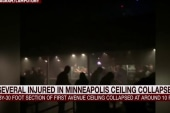 Ceiling collapses at famous US rock club