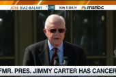 Jimmy Carter to undergo cancer treatment