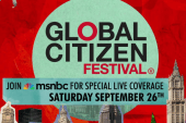 Celebs join Global Citizen Festival