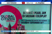 A-list celebs join Global Citizen Festival