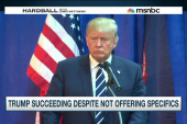 Trump succeeding despite not offering...