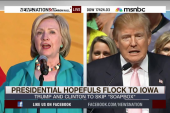 Presidential hopefuls flock to Iowa