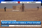 Report: ISIS launched chemical attack on...
