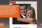 Media obsession & Jennifer Aniston's marriage