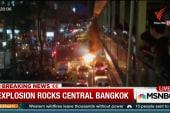 Explosion rocks central Bangkok