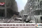 Could Iran nuke deal held end Syrian civil...