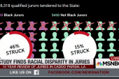 Study finds racial disparity in juries
