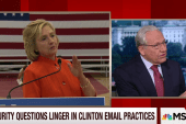 Security questions linger in Clinton emails