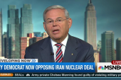 Second key Democrat to vote 'no' on Iran deal