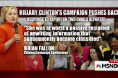Why did Clinton need a private server?