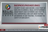 Gut Check: Regal Cinema's new security policy