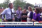 Jeb Bush strikes back at Donald Trump