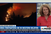 Three firefighters dead in West Coast...