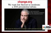 Petition: Stewart should moderate debate