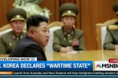 North Korea declares 'wartime state'
