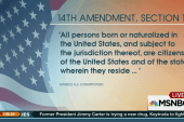 Can birthright citizenship be revoked?