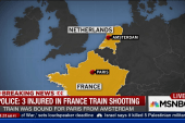 Police: 3 hurt in France train shooting