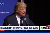 Donald Trump's first 100 days as President