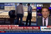 Shooting on Amsterdam-to-Paris train