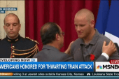 Three Americans honored for thwarting attack