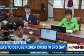 Talks to defuse Korea crisis stretch on