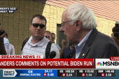 Sanders comments on Biden 2016 speculation