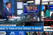 Witness to train attack speaks to MSNBC
