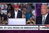 Pataki on Trump immigration plan: 'It's nuts'